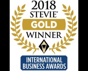 2018 Stevie Gold Winner - International Business Awards